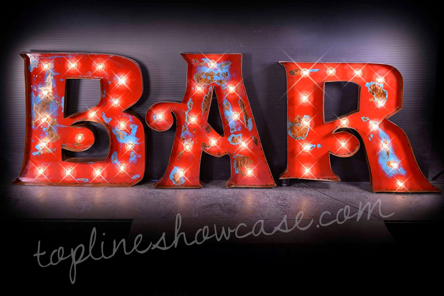 30H BAR Marquee Signs Marquee letters Marquee by TLNFunctionalArt