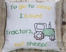 Tractor Sketch Embroidery Design