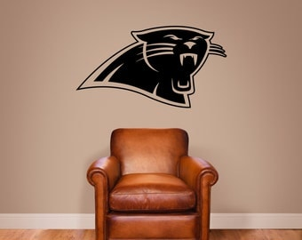Carolina Panthers Vinyl Wall Decal Sticker Graphic