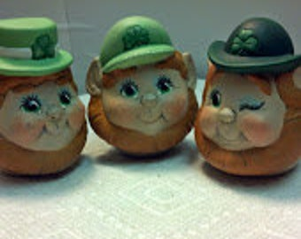 Set f 3 Leprechaun Eggs-Pressions