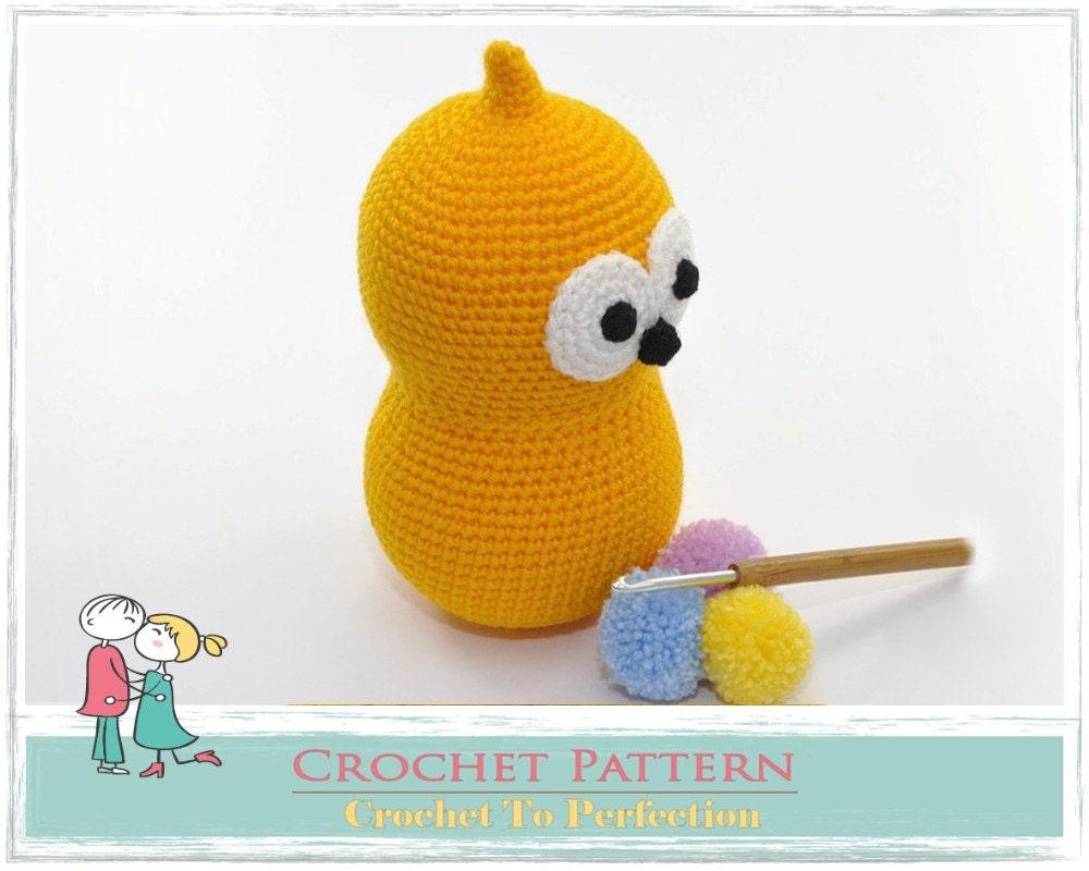Crochet Zingy Pattern : Amigurumi PATTERN Zingy Crochet Amigurumi Pattern by ...