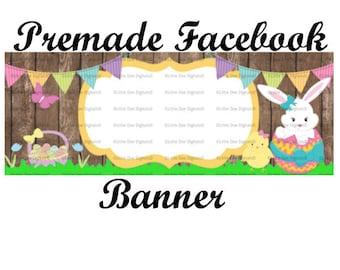Instant Download DIY Easter Facebook Timeline Cover