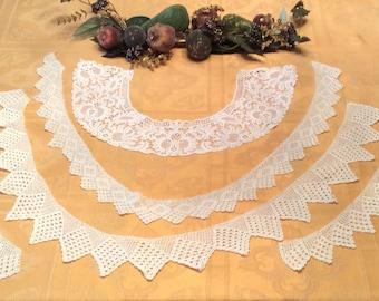 5 Fabulous Crochet Lace Collars Pieces