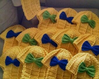 Shrek the Musical Duloc Crochet Costume Hat - BULK ORDER and DISCOUNT Available