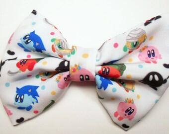 Kirby Nintendo  Hair Bow