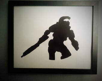 Halo wall art