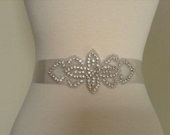 satin bridal sash, wedding dress sash, bridal belt