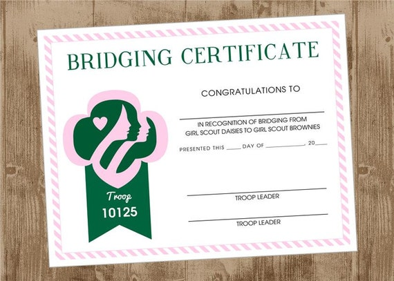 Pin Daisy Bridging Certificate Printable Image Search Results on ...