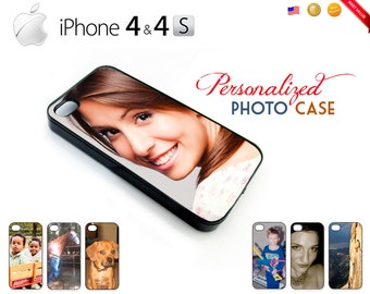 Custom iPhone 4 / 4S Cases - Personalize w/ Your Own Picture! NEW!! - Many Colors!
