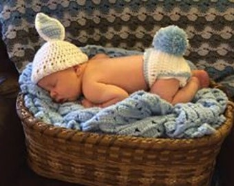 Bunny tail diaper cover