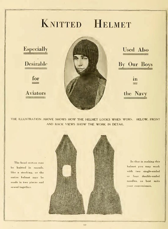 WW1 knitting for troops The Priscilla Book of Knitting pdf