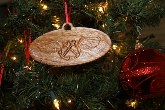 Aviation art, Aviation gifts,  Boatswains,  wood Christmas Ornament, gifts, Navy gifts, us navy gifts, us navy chief, gift for veteran,