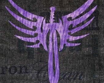 Winged Sword Quilt Applique Pattern Design