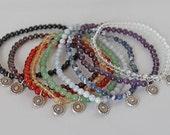 7 Chakra Bracelets, private listing for dixiern