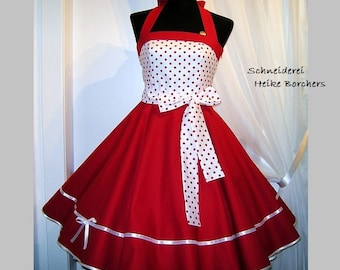 Petticoat dress dance dress Maritim Red