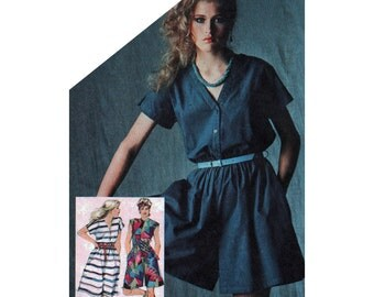 Simplicity Sewing Pattern 5583 Misses' Dress and Culotte in two lengths  Size:  14  Uncut