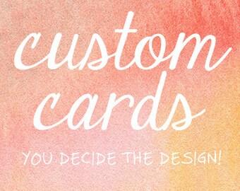 Custom Card // everyday cards