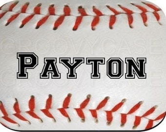 Personalized Mouse Pad Baseball