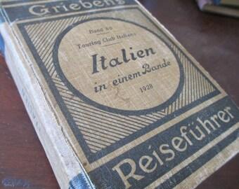 Italian Auto Touring Book  1928