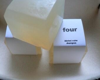 Four: Minted cake shampoo