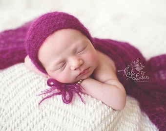 Mohair Newborn Wrap - Photography Prop - Newborn Wrap