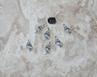 15 ea  shell charms # 30