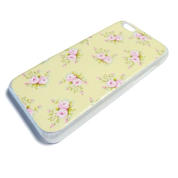 ... 5c case / cover - vintage, pretty design, cath kidston, roses, one-off