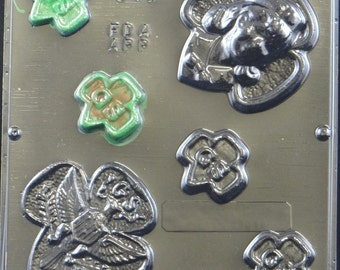 Girl Scout Pieces Chocolate Candy Mold  541