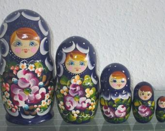 Babushka Matryoshka Matryoshka Russian Dolls Matruschka 5 pcs 5 pcs