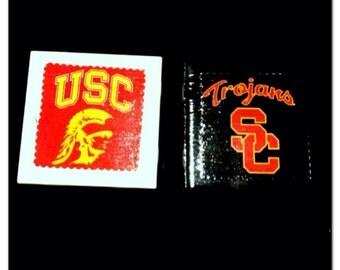 USC coasters.
