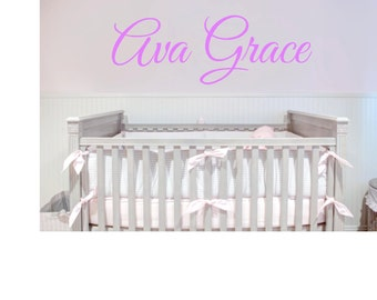 Name Decal, Wall Vinyl, for Child's Room, Nursery