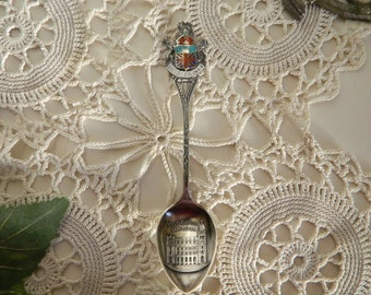 Sterling Silver Collectors Spoon British Columbia Post Office Vancouver Souvenir Spoon