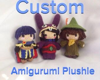 Custom Amigurumi Chibi Plushie