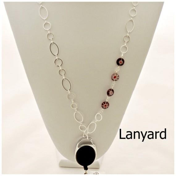 Id Card Beads: Lanyard Lanyards Badge Holders ID Card Holder Badge