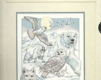 Dimensions:  North American Beauties Cross Stitch Kit