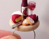 Wine and Cheese Board Ring