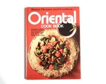 Oriental Cookbook from Better Homes and Gardens - Large Format Edition 1983