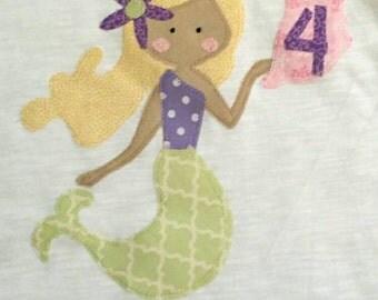 Sweet Little Mermaid Top