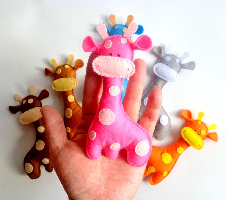 Diy Giraffe Toy Felt Toy Giraffe-plush