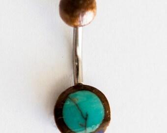 Kajal Belly Button Ring - Navel Ring - Belly Ring - Belly Button Jewelry - Navel Jewelry - Body Jewelry - Body Piercing - Navel Pierceing