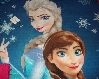 Frozen Sisters Forever Panel Fleece Throw