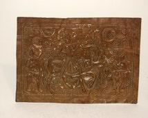 Copper votive plate of Hindu Saint, Ramdev Pir