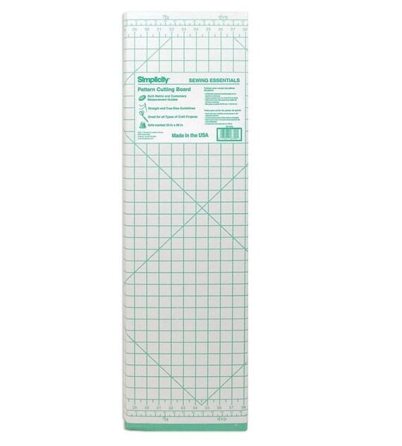 carton patron couture coupe bord 36 par 60 pouces planche. Black Bedroom Furniture Sets. Home Design Ideas