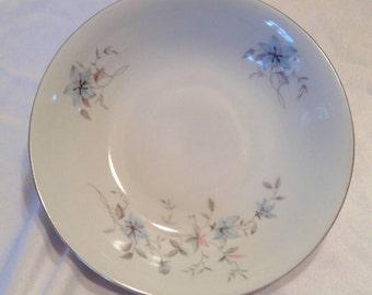 Royal Bohemian BLUE FANTASY Large Soup Bowl (S) Czechoslovakia