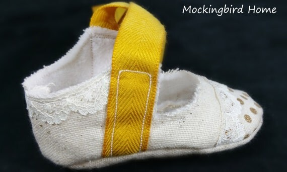 3 6 month baby Mary Jane shoes by MockingbirdHome on Etsy