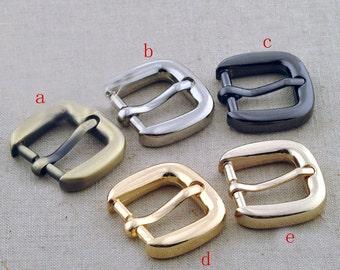 0.75 inch (20mm inner diameter) belt buckle. golden,silver,anti brass,light golden,gun.10 Pcs