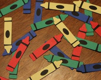 Crayon Confetti- Set of 60