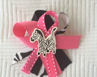Zebra baby shower guest pins Hot pink and zebra print guest pins capias  Safari Baby Shower Guest pins