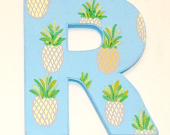 Initial Canvas with Pineapples