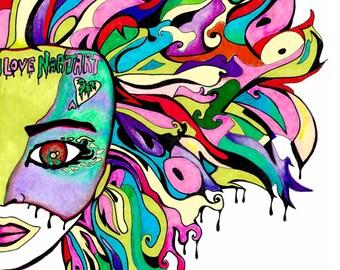 Pyschedelic Art Etsy